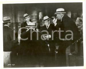 1959 AL CAPONE Rod STEIGER during a mafia meeting - Movie by Richard WILSON Foto