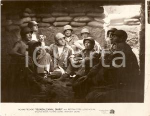 1943 GUADALCANAL DIARY Anthony QUINN Richard JAECKEL Ralph BYRD *Foto 24x18 cm