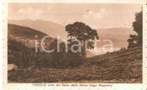 1939 TAINO (VA) Frazione CHEGLIO vista da SASSO DELLA BARCA *Cartolina FP VG