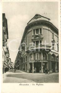 1939 ALESSANDRIA Bicicletta in via Migliara - Panorama *Cartolina FP DANNEGGIATA