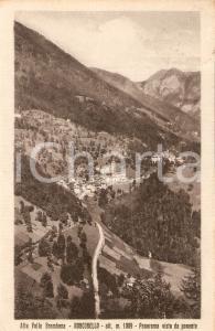 1950 RONCOBELLO (BG) Alta Valle Brembana - Panorama da ponente *Cartolina FP VG