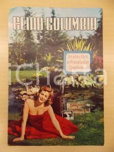 1955 ca CEIAD COLUMBIA Listino produzioni 5 CONTRO IL CASINO' Notte di terrore