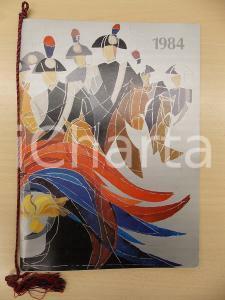 1984 ARMA CARABINIERI Calendario illustrato Ninni VERGA Organizzazione regionale