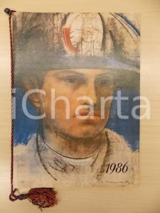 1986 ARMA CARABINIERI Calendario illustrato Pietro ANNIGONI Romano STEFANELLI