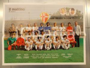 1983 PADOVA CALCIO Poster della squadra - Serie B *Inserto al MATTINO DI PADOVA