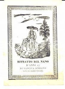 1835 Europa, Chronik der gebildeten Welt - Nano anni 17 schiavo nato da vecchia