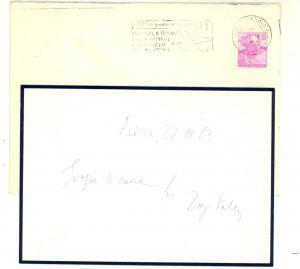1963 PADOVA Diego VALERI ringrazia per condoglianze *Biglietto AUTOGRAFO