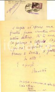 1949 PARMA Solo io posso stramaledire il Cielo *Autografo Aurelio CANDIAN