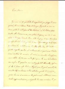 1873 PADOVA Giuseppe VERDI asino con orecchie lunghissime *Gino CITTADELLA