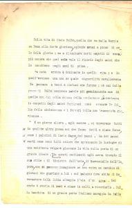 1960 ca L'eroismo di Italo BALBO, gran ribelle *Dattiloscritto INEDITO 5 pp.