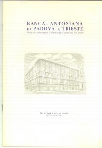 1979 BANCA ANTONIANA di PADOVA E TRIESTE - Relazione e bilancio 50 pp.