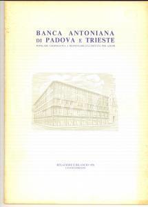 1976 BANCA ANTONIANA di PADOVA E TRIESTE - Relazione e bilancio 50 pp.