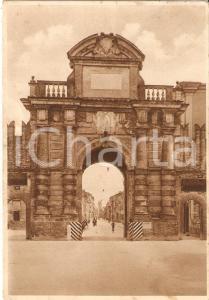 1936 FAENZA (RA) Veduta di Porta Imolese - Insegna liquore STREGA *Cartolina FG