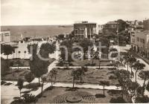 1960 ca CATTOLICA Panorama con hotel VILLA FULGIDA e albergo KURSAAL *Cartolina