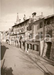 1955 ca GRADO (GO) Panorama di via Gradenigo *Cartolina FG NV