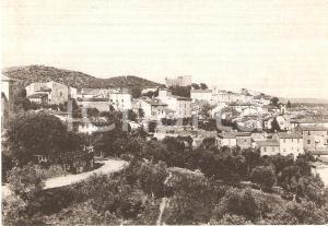 1950 ca SUVERETO (LI) Panorama del paese *Cartolina FG NV
