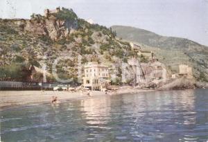 1955 MONTEROSSO AL MARE (SP) Pensione CIGOLINI Panorama *Cartolina FG VG