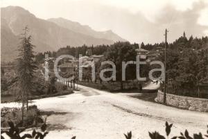1954 RONCEGNO TERME (TN) Panorama del paese *Cartolina FG NV