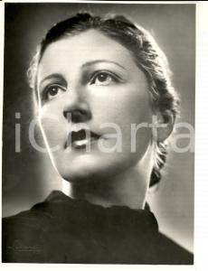 1940 ca ROMA Ritratto della ballerina Tusnelda RISSO *Foto LUXARDO 18x24