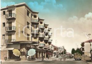 1955 ca RIMINI - TORRE PEDRERA Benzinaio ESSO in via San Salvador *Cartolina FG