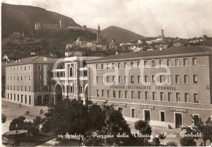 1955 SPOLETO Piazzale della Vittoria - Ristorante Lello CARO *Cartolina FG VG