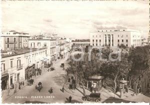 1935 ca FOGGIA Piazza Lanza e palazzo degli uffici statali *Cartolina FG NV