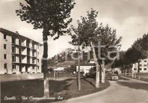 1955 ca CANELLI (AT) Via Circonvallazione Est *Cartolina FG NV