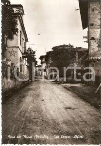 1955 ca SOSTEGNO - CASA DEL BOSCO Cascine in via Cesare Alfieri *Cartolina FG NV