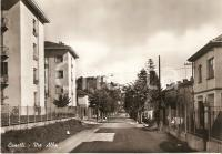 1955 ca CANELLI (AT) Panorama di via Alba *Cartolina FG NV
