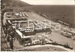 1959 COGOLETO (GE) Stabilimenti balneari e Dancing Lido *Cartolina FG VG