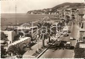 1960 COGOLETO (GE) Ristorante Italia e panorama del lungomare *Cartolina FG VG