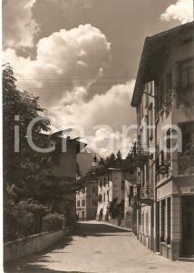 1955 ca RONCEGNO TERME (TN) Scorcio di via San Giuseppe *Cartolina FG NV