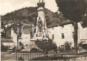 1955 ca VARESE LIGURE (SP) Monumento ai caduti *Cartolina FG NV