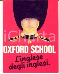 1982 VERONA OXFORD SCHOOL Corsi di inglese *Cartolina pubblicitaria VINTAGE