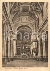 1950 ca VALGUARNERA CAROPEPE (EN) Interno della Madre Chiesa *Cartolina FG NV