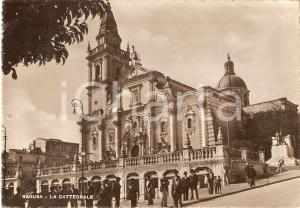 1942 RAGUSA Cattedrale di San Giovanni Battista *Cartolina ANIMATA FG NV