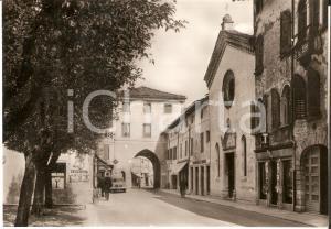 1960 SAN VITO AL TAGLIAMENTO Via Bellunello e Santa Maria dei Battuti *Cartolina