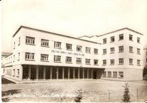 1962 PINARELLA DI CERVIA Colonia marina Cassa edile di Milano *Cartolina FG VG