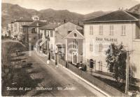 1955 ca VALLECROSIA (IM) Casa valdese in via Aurelia - Panorama *Cartolina FG NV