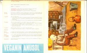 1959 MILANO Farmaceutica ANGIOLINI Test appercettivo deduttivo 5 a - Vecchio