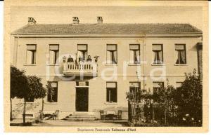 1943 VALTERZA / ASTI Veduta del Dopolavoro Frazionale *Cartolina ANIMATA donne