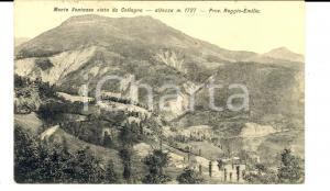 1915 COLLAGNA (RE) Veduta panoramica del Monte VENTASSO *Cartolina postale FP VG