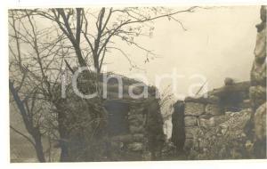 Natale 1917 WW1 VAL BRENTA Postazioni del V Reggimento ALPINI *Foto 14x8 cm