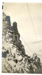 1917 WW1 MONTE PASUBIO Veduta della teleferica *Fotografia 8x14 cm