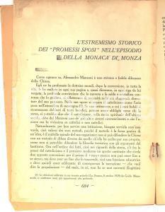 1930 Emilio ZANETTE L'estremismo storico dei