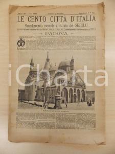 1888 CENTO CITTÀ D'ITALIA Basilica Sant'Antonio da PADOVA *Supplemento n.8132