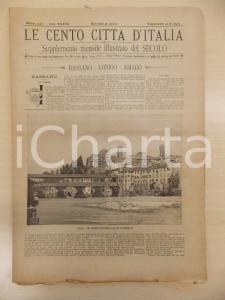 1902 CENTO CITTÀ D'ITALIA Bassano del Grappa LONIGO Asiago *Supplemento n.12940