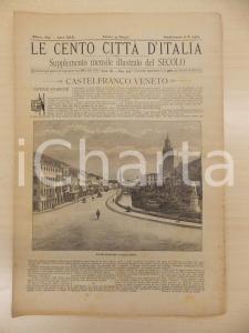 1895 CENTO CITTÀ D'ITALIA Castelfranco Veneto *Supplemento del Secolo n.10564