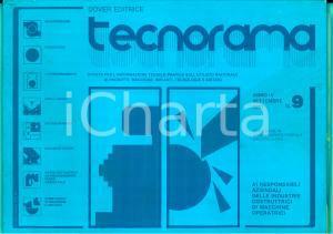 1981 TECNORAMA Macchine utensili - Robot industriali *Rivista ILLUSTRATA n° 9