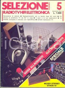 1979 SELEZIONE Radio tv hifi elettronica - Guida all'acquisto *n° 5 160 pp.